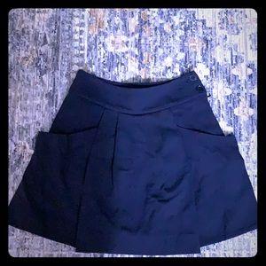 LACOSTE Navy blue skirt